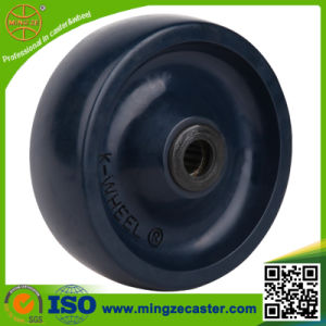 4 Inch Solid PU Wheels for Industry Castor pictures & photos