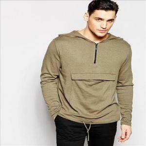 2016 Men′s Pullover Fleece Wholesale Plain Hoodie Jackets pictures & photos