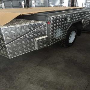 Checkered Streak Aluminium Plate for Floor pictures & photos