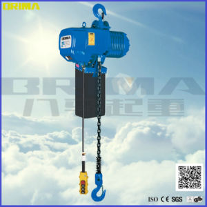 Brima Fixed Type 1t Electric Chain Hoist with Hook pictures & photos