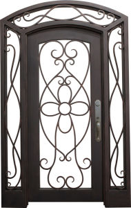 Hand Forged Wrought Iron Gate pictures & photos