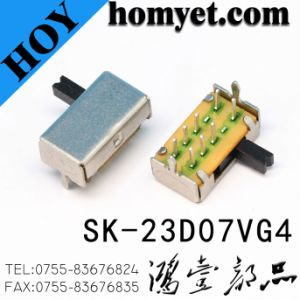 Switch/8pin DIP Slide Switch/Toggle Switch (SK-23D07) pictures & photos