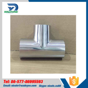 Stainless Steel Ss304 Hygienic Equal Tee pictures & photos