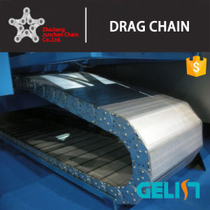 Stainless Steel Cable Drag Chains Steel Flexible Cable Roller Belt in Drag Chain pictures & photos