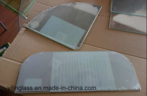 Plastic Film Shrinking Tempered Glass for Door Pane pictures & photos