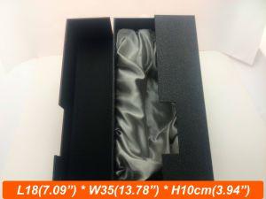 Zipper Open Design Rigid Card Board Pack Box