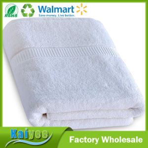 Luxury Gym 100% Ringspun Cotton Bath Towels (White, 30X56 Inch) pictures & photos