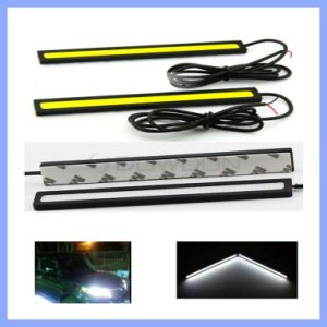 Waterproof DC 12V 8W 600lm Ultra Bright White 14cm 17cm COB Car LED Light for DRL Fog Daytime Running Driving Lamp pictures & photos