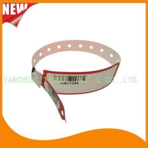 Barcode Hospital Logo Customized Medical ID Wristband Bracelet (8027-2-6) pictures & photos