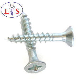 Factory Price Carbon Steel Csk Head Pozidriv Screws pictures & photos