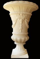 Pedestal Flower Pot Statue Sandstone Sculpture Cheap Price pictures & photos
