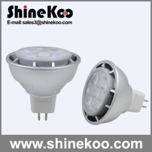 Epistar SMD2835 Aluminium MR16 GU10 7W LED Spotlight pictures & photos