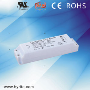 700mA 32W 0-10V Dimmable Plastic LED Driver with Ce pictures & photos