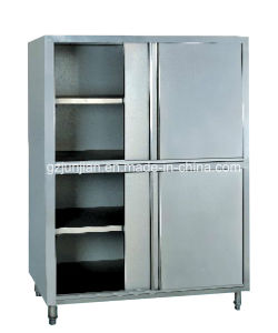 Vertical Four Doors Storage Kitchen Work Table pictures & photos