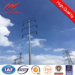Metal Steel Pole for Transmission Tower pictures & photos