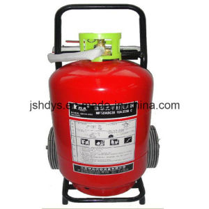 50kg Wheeled Dye Power Fire Extinguisher (GB8109-2005) pictures & photos