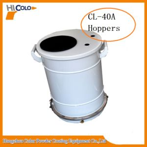Different Kinds of Powder Hopper Tank Container Cl40 pictures & photos