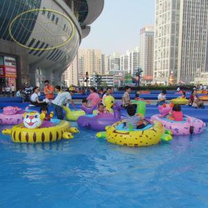 Animal Model Theme Park Electric Bumper Boat