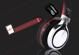 Studio Wireless Bluetooth Headset Portable Bluetooth Stereo Headphone Folding with Memory Card Slot pictures & photos