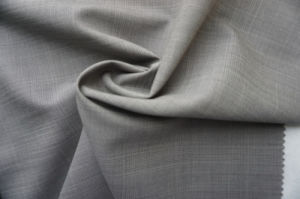 Plaid Plain Wool Fabric of 100% Wool pictures & photos