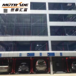 Lift-Sliding Hydraulic Parking Lift pictures & photos