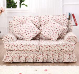 Double Seats Cotton Print Children′s Chair (SXBB-287) pictures & photos