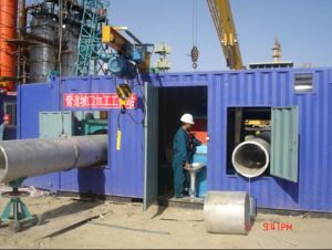 Pipe Prefabrication Containerized Spool Fabrication Line pictures & photos