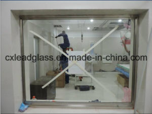 X-ray Radiation Protection Lead Glass Used for CT Scan pictures & photos