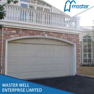 Remote Control Wood Used Canvas Insulated Garage Doors with Small Doors Sales pictures & photos