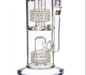 Double Matrix Domed Showerhead Percolator Smoking Glass Water Pipes pictures & photos
