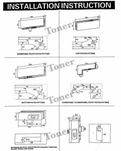 Stainless Steel 304 Glass Door Upper Hinge pictures & photos