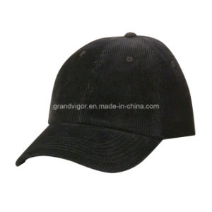Six Panels Corduroy Baseball Cap for Mens pictures & photos