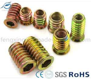 High Quality Outside Threaded Nut for Wooden Furniture