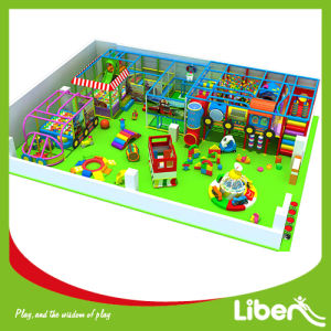 Car Theme Indoor Playground with Ball Pool and Soccer Court pictures & photos