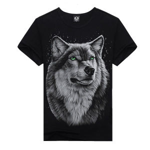 Great Quality 100%Cotton Men Fashion 3D T-Shirt pictures & photos
