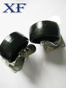 75*20 Medium Duty PU Caster Wheel pictures & photos