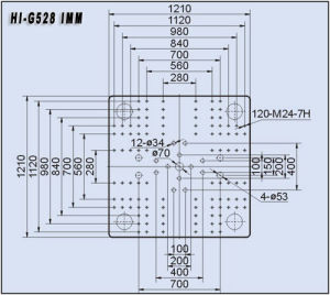 528t Plastic Injection Molding Machine Hi-G528 pictures & photos
