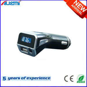 Portable 2.1A USB Car Charger with MP3