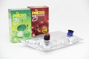Two Spouts Aseptic Bags for Juice and Drinks pictures & photos