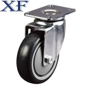 75*20 Medium Duty PU Caster Wheel pictures & photos