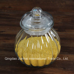 Pumpkin Shape Glass Jar for Cereal Storage pictures & photos