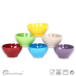 13.5cm Ceramic Bowl Solid Glaze in Different Colors pictures & photos