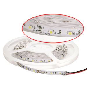 Flexible 2835 SMD 120 LED Strip IP64 12V 40mA 15~15.5 Lumen/LED 2 Years Warranty pictures & photos