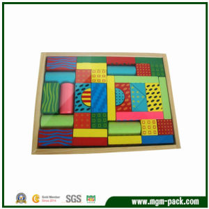 Good Quality Colorful Wooden Intelligent DIY Toy pictures & photos