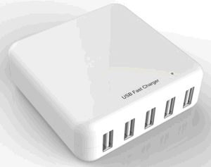 Smart Charger 5 Ports, CE/RoHS/ETL Compatible pictures & photos