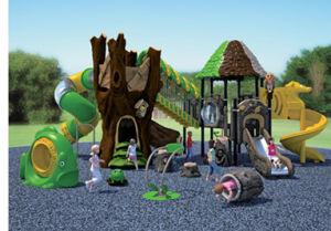 Children Playground Equipment Ancient Tribe Series Fl8017-1