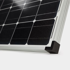 High Efficiency 100W Monocrystalline Soalr Panel with CE & TUV&ISO pictures & photos