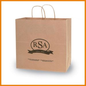 Brown Paper Bag with Low MOQ pictures & photos