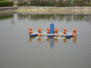 Fishery Machinery of The 2 Paddle and 3 Paddle and 4 Paddle Paddlewheel Aerator pictures & photos