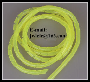 PE Spiral Wire Wrapping Band Without Clip pictures & photos